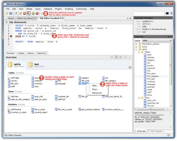 SQL Editor Tutorial