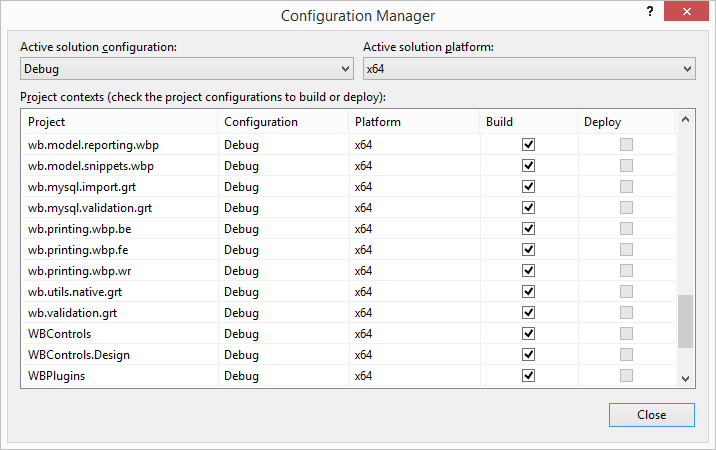 For the brave: compiling Workbench 6 3 using Visual Studio