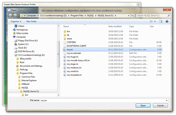 how to create sql file in mysql workbench